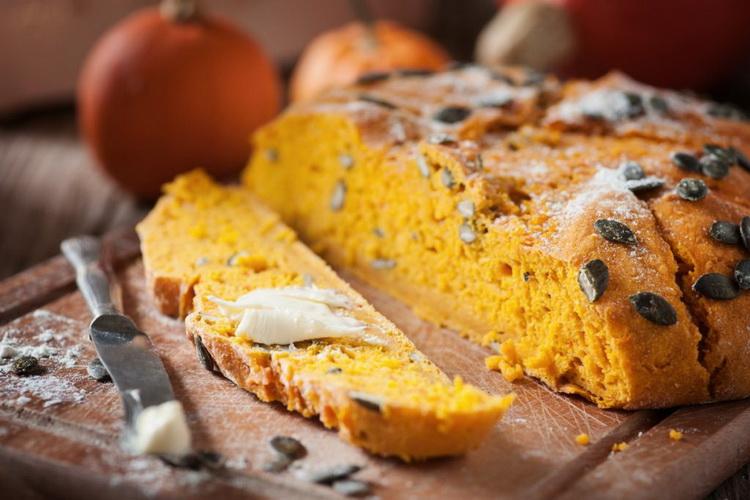 Тыквенный хлеб-рецепт
