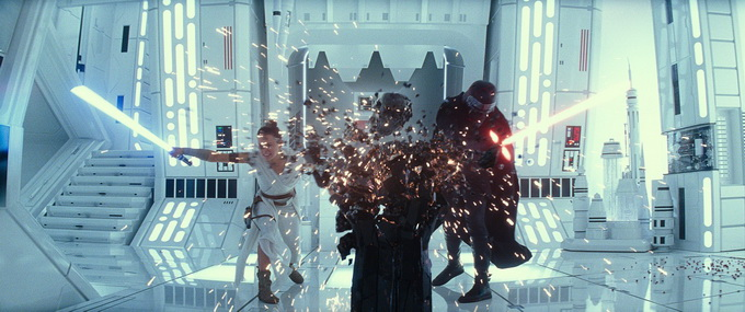 Звездные войны Скайуокер Восхождение-кадр