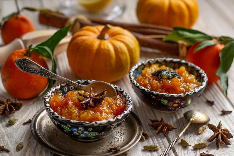 чатни-из тыквы с цитрусовыми