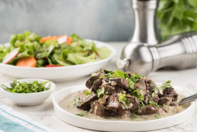 як готувати яловичу печінку