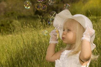 мильні бульбашки вдома