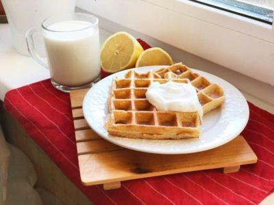 рецепт вафель у вафельниці