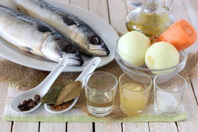рецепт солоної скумбрії