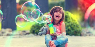 розчин для мильних бульбашок
