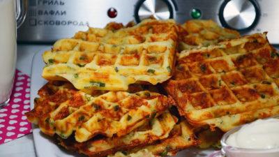 рецепт тіста для вафельниці