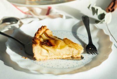 Кусочек грушевого пирога