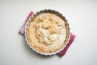 Сирий пиріг до випічки