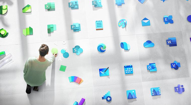новые стилизованные иконки Windows 3