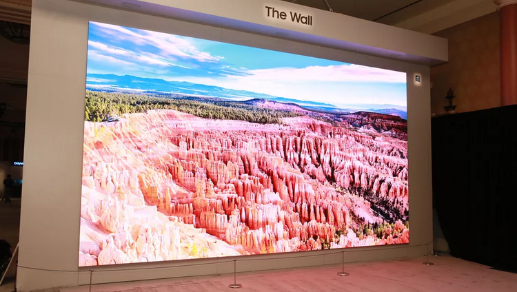 CES-2020-The Wall MicroLED TV photo 2