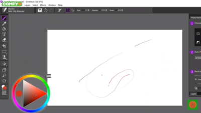 Как рисует Wacom Intuos Pro S