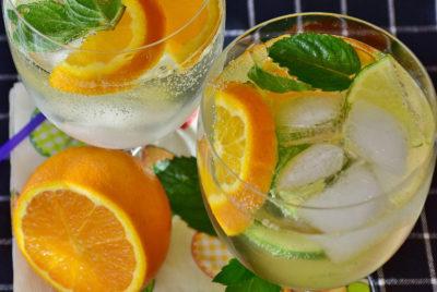 Домашній лимонад: Апельсиновий