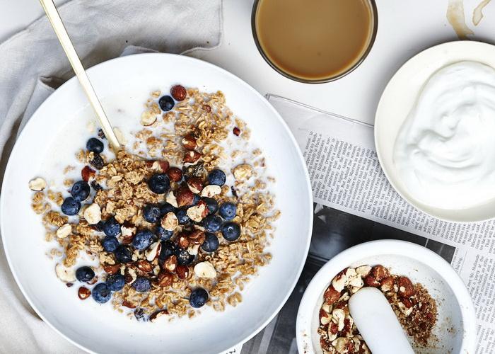 Гранола-завтрак