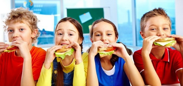 Как питаться в школе-перекус