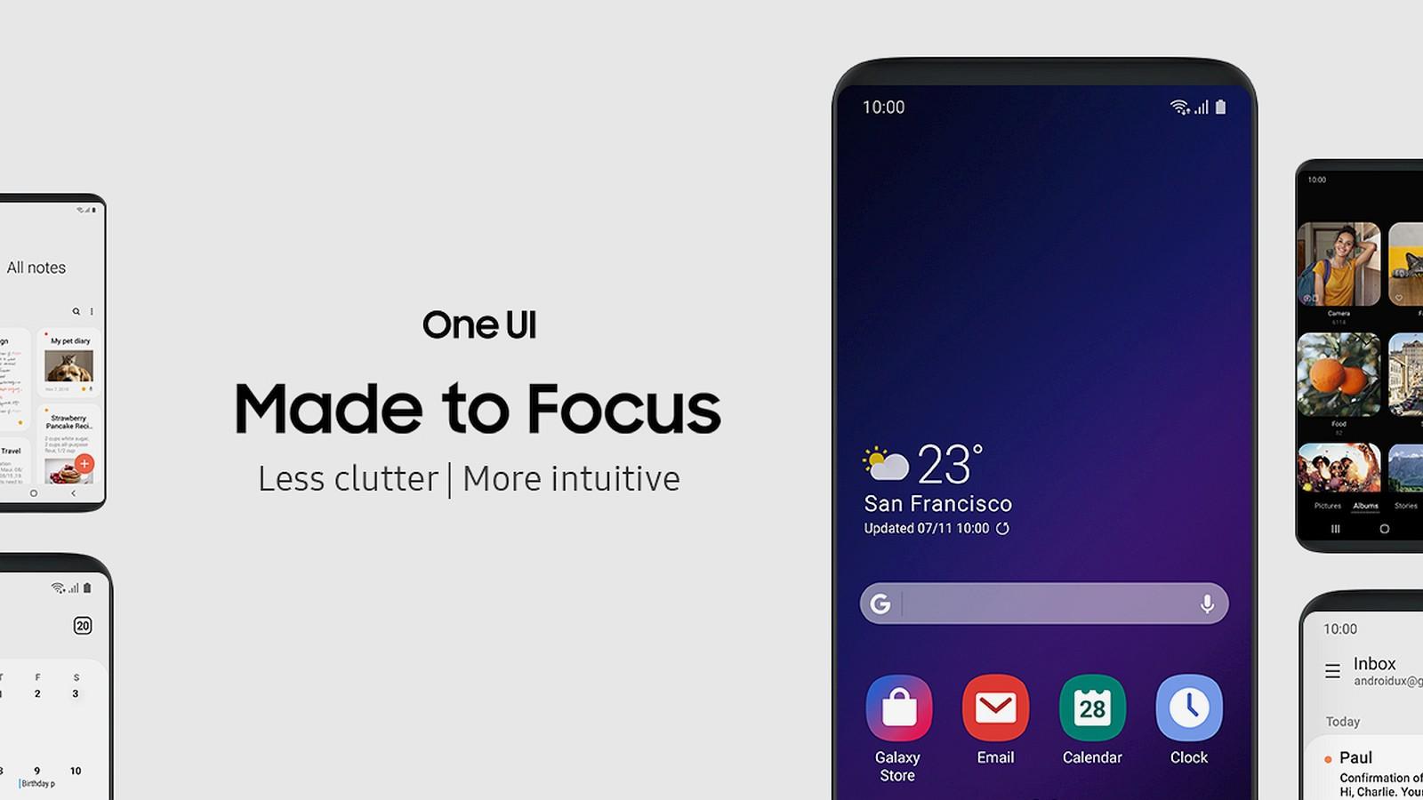 One UI 2.0. Что нового - обновление оболочки