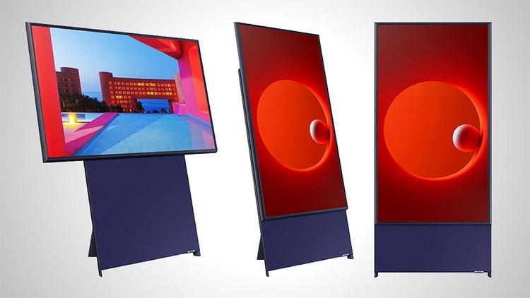 Samsung The Sero-вертикальный телевизор