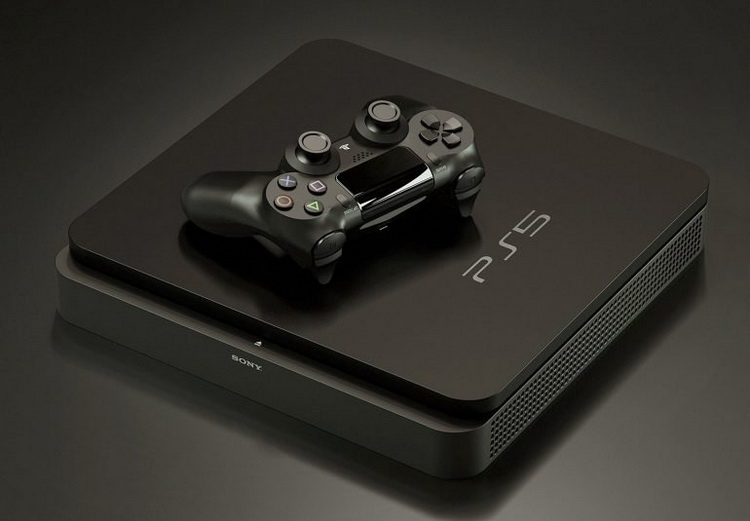 Sony PlayStation 5-игровая консоль черная расцветка