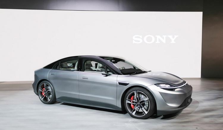 Sony-концепт электромобиля