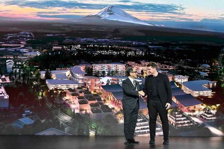 Toyota Woven City-фото с мероприятия