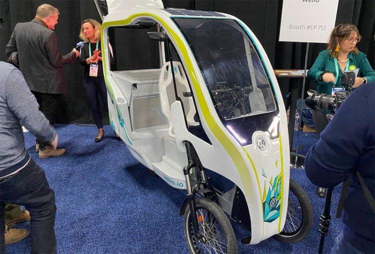 Трехколесный велосипед-новинки CES-2020