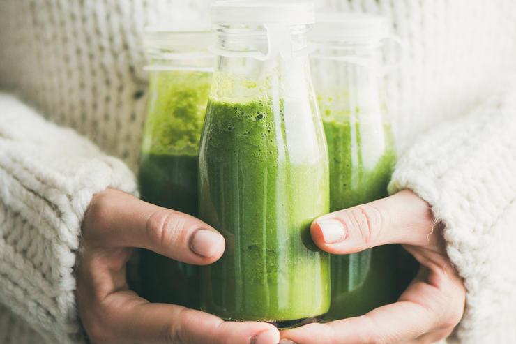 Зеленые смузи-вкусный детокс