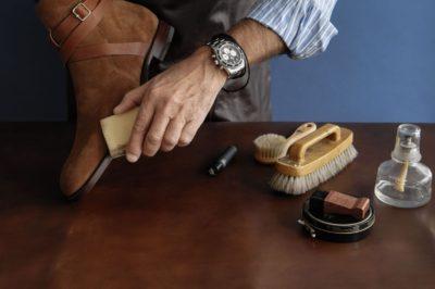 як доглядати за замшевим взуттям