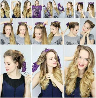 как сделать слегка волнистые волосы