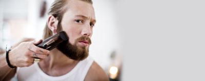 як голити бороду