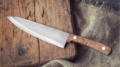 як гострити ножі точилом