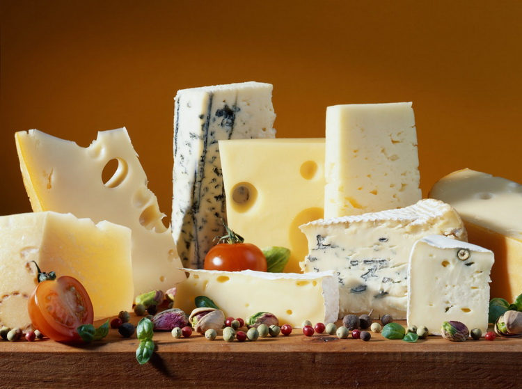 сыр-разные виды