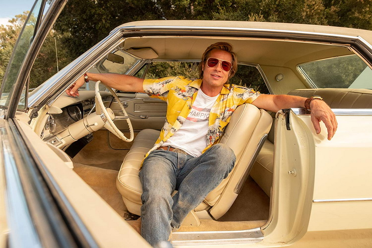 Брэд Питт-Однажды в Голливуде