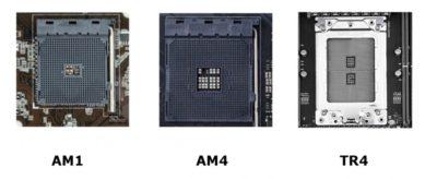 Сокеты процессоров AMD