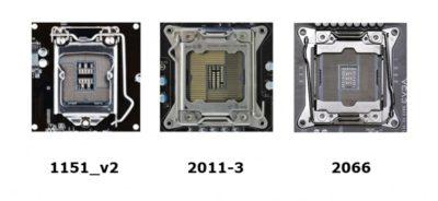 Сокеты процессоров Intel