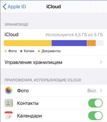 Виды файлов, сохраненных в облаке