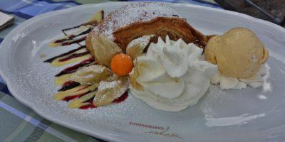 Ресторанный десерт
