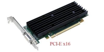 Приклад материнської плати з PCI-E х16