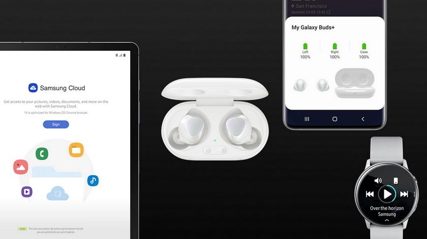 Новые наушники-Samsung Cloud
