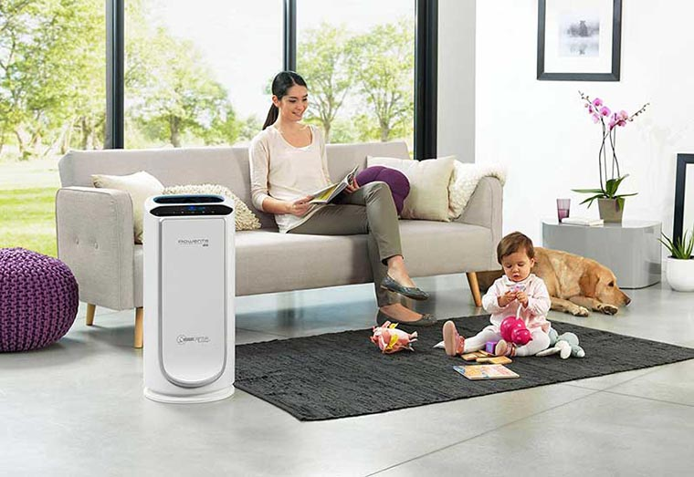 Очиститель воздуха в доме