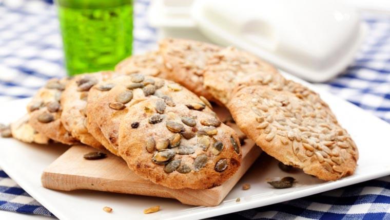 Печенье с тыквенными семечками