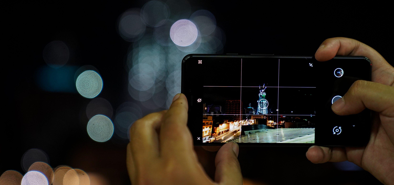 В каком режиме фотографировать ночью на смартфон