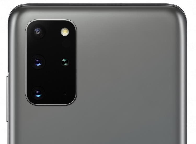 Samsung Galaxy S20+ Cosmic Gray-блок основной камеры