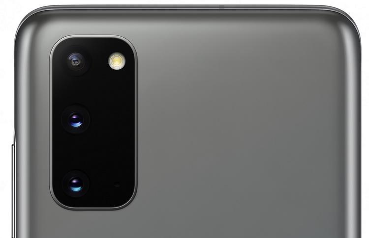 Samsung Galaxy S20 Cosmic Gray-блок основной камеры