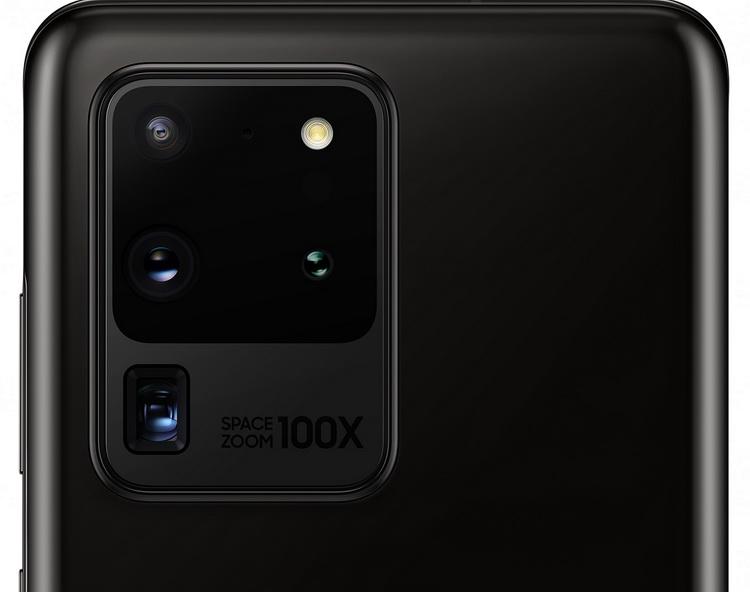 Samsung Galaxy S20 Ultra Cosmic Black-блок основной камеры