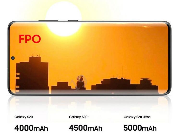 Samsung Galaxy S20-автономность и быстрая зарядка