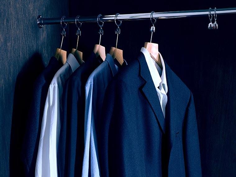 Вещи в гардеробе