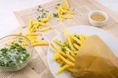 картошка фри рецепт