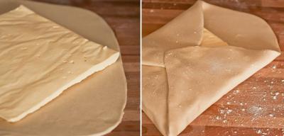 Як правильно складати тісто з начинкою