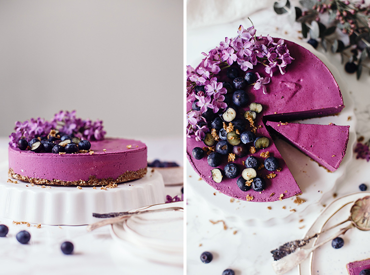 recipe-blueberry cheesecake