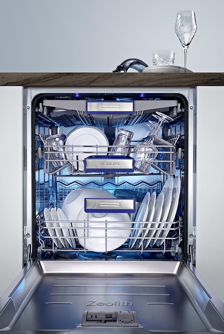 Бокал на посудомоечной машине