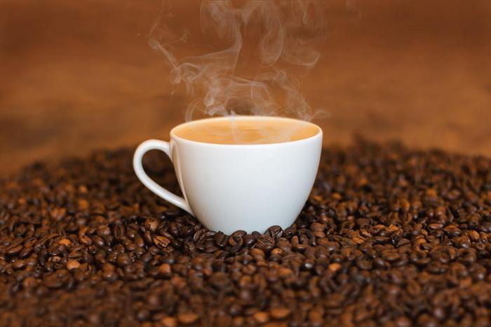 Чашка кофе-кофеин