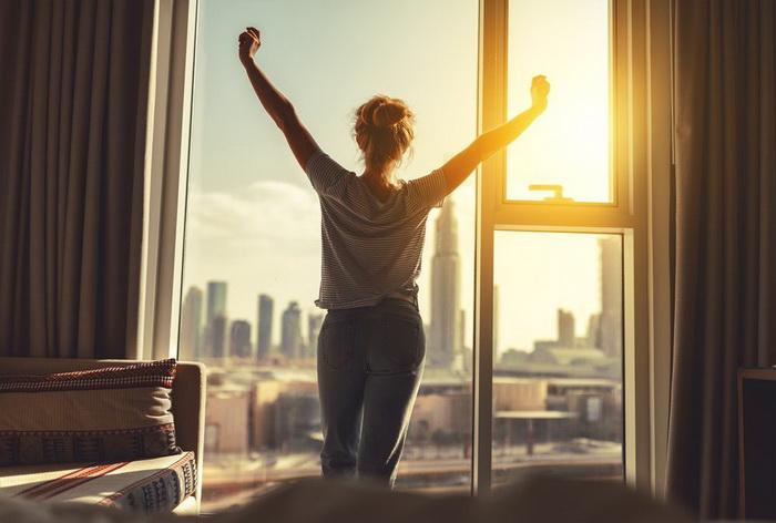 Доброе утро-окно